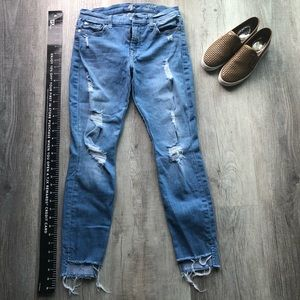 7 For All Mankind Ankle Skinny Jeans 👖